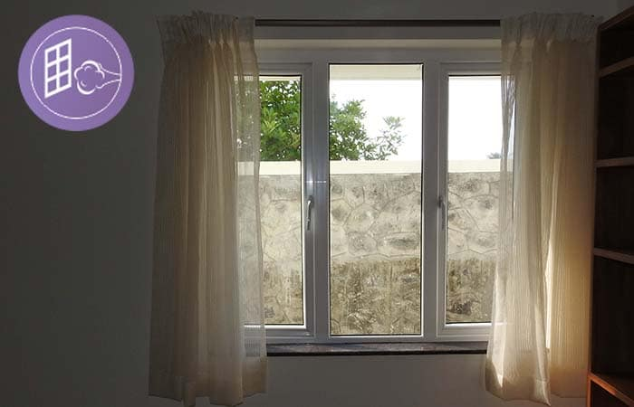 upvc windows wind proof